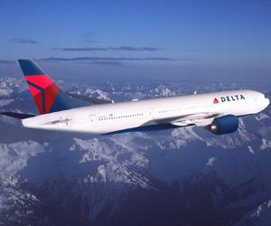 Самолет на авиокомпания Delta