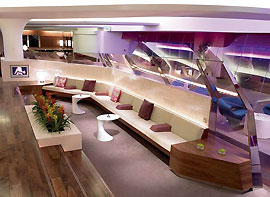 Virgin Atlantic Clubhouse, авиокомпания Virgin Atlantic