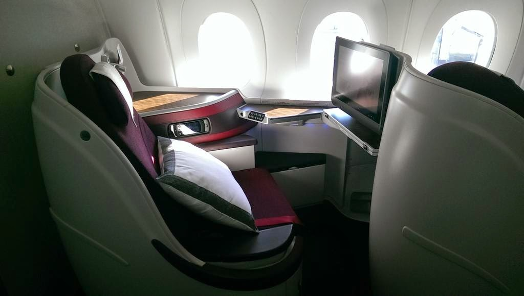 A350-900 Business Cabin Qatar Airways