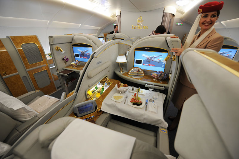 Emirates First Class Seats